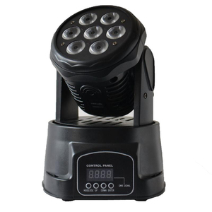 7pcs LED wash moving head
