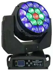 19pcs Led focus Bee moving head